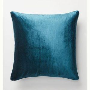 Anthropologie Velvet Pillow